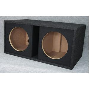 10インチ(25cm)ウーハー2発用ポーテッドボックスの詳細を見る