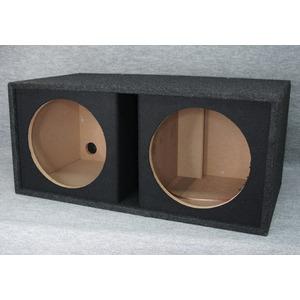 12インチ(30cm)ウーハー2発用ポーテッドボックスの詳細を見る