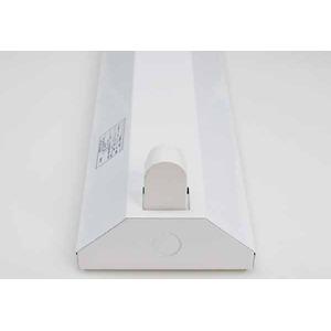 10台セット 直管LED蛍光灯用照明器具 逆富士型 40W形1灯用