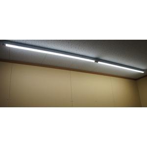 10本セット LED蛍光灯 直管20W形 4000K 白色 9W 回転口金 乳白カバー