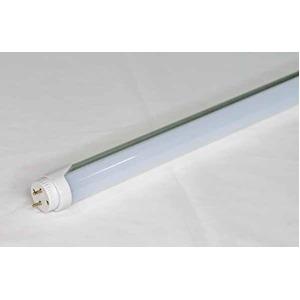 25本セット LED蛍光灯 直管20W形 4000K 白色 9W 回転口金 乳白カバー