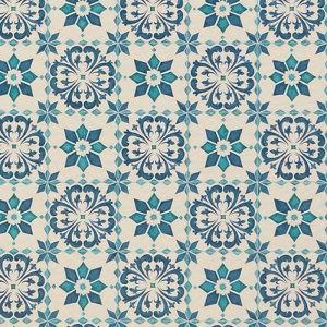 東リ クッションフロアH モロッコタイル 色 CF9003 サイズ 182cm巾×4m 【日本製】