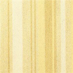 東リ タイルカーペット スマイフィール スクエア2300 FF2305 サイズ50cm×50cm 色 レモン 10枚セット 【防ダニ・洗える(ウォッシャブル)】 【日本製】