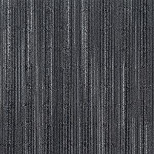 東リ タイルカーペット スマイフィール スクエア4200 FF4203 サイズ50cm×50cm 色 黒灰絣 10枚セット 【防ダニ・洗える(ウォッシャブル)】 【日本製】 - 拡大画像
