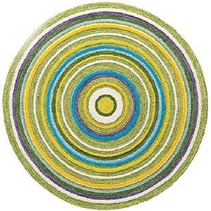 東リ ラグ ラグマット TOR3403 サイズ 148cm×148cm 円形 【日本製】の詳細を見る