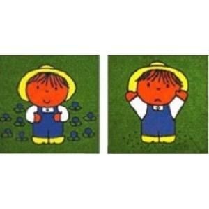 ディック・ブルーナ パネルカーペット AKD6-SET 2柄1セット サイズ 40cm×40cm 【防ダニ・洗える(ウォッシャブル)】 【日本製】の詳細を見る