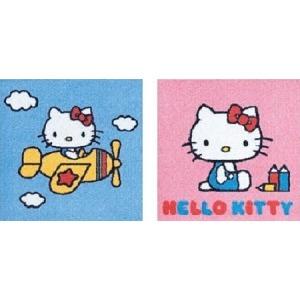 ハロー・キティ パネルカーペット AKH2-SET 2柄1セット サイズ40cm×40cm 【防ダニ・洗える(ウォッシャブル)】 【日本製】の詳細を見る