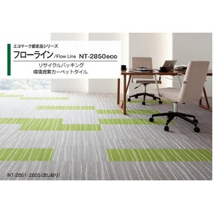 エコマーク認定品 環境提案タイルカーペットサンゲツ NT-2850eco フローラインサイズ 50cm×50cm 16枚セット色番 NT-2851の詳細を見る