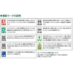 環境提案タイルカーペット サンゲツ NT-2950eco モノグラムサイズ 50cm×50cm 8枚セット色番 NT-2954 【防炎】 【日本製】