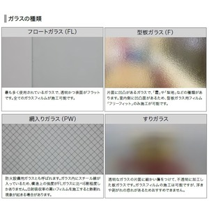 すりガラス調 飛散防止・UVカット ガラスフィ...の紹介画像6