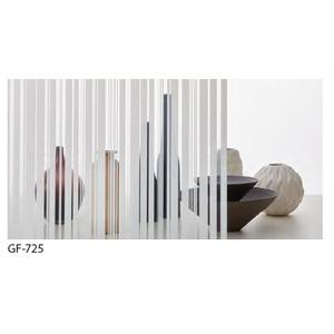 ストライプ 飛散防止 ガラスフィルム サンゲツ GF-725 92cm巾 7m巻