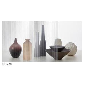 ストライプ 飛散防止 ガラスフィルム サンゲツ GF-728 92cm巾 4m巻