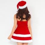 【クリスマスコスプレ 衣装】Peach×Peach レディース エレガントサンタクロース サンタコスプレ女性用 ワンピース