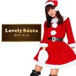 【クリスマスコスプレ】Peach×Peach レディース ラブリーサンタ ワンピース