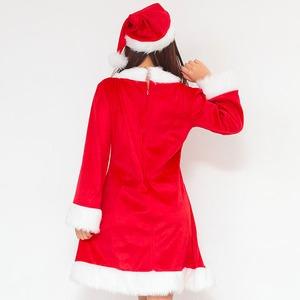 【クリスマスコスプレ 衣装】Peach×Peach レディース スイートサンタクロース サンタコスプレ女性用 ワンピース