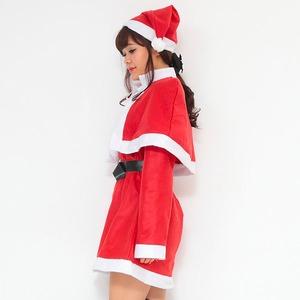 【クリスマスコスプレ】P×P レディースサンタ ワンピース&肩がけの写真3