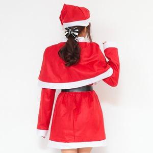 【クリスマスコスプレ】P×P レディースサンタ ワンピース&肩がけの写真4