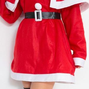 【クリスマスコスプレ】P×P レディースサンタ ワンピース&肩がけの写真5