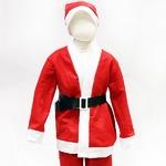 【クリスマスコスプレ 衣装】P×P ボーイズサンタクロース サンタコスプレ子供用 ジャケット&パンツ (3 - 5才向け)