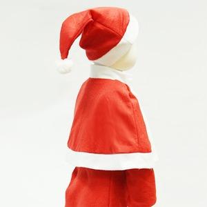 【クリスマス 衣装 コスチューム 子供用】P×P ガールズサンタクロース サンタコスプレ子供用 ワンピース&肩がけ (3 - 5才向け)