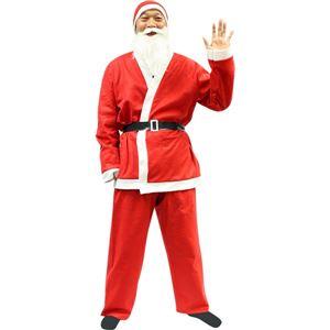 【クリスマスコスプレ 衣装 まとめ買い3着セット】P×P メンズサンタクロース サンタコスプレ男性用 5点セット