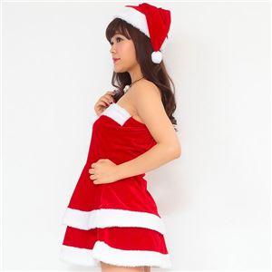 サンタ コスプレ セクシー まとめ買い 【Peach×Peach  エレガントサンタクロース チューブトップ (×3着セット) 】 クリスマスコスプレ サンタクロース衣装 h03
