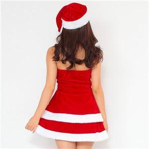 サンタ コスプレ セクシー まとめ買い 【Peach×Peach  エレガントサンタクロース チューブトップ (×3着セット) 】 クリスマスコスプレ サンタクロース衣装 f04