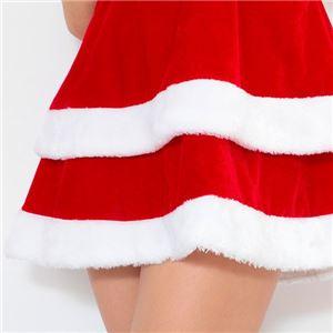 サンタ コスプレ セクシー まとめ買い 【Peach×Peach  エレガントサンタクロース チューブトップ (×3着セット) 】 クリスマスコスプレ サンタクロース衣装 f05