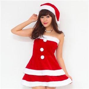 サンタ コスプレ セクシー まとめ買い 【Peach×Peach  エレガントサンタクロース チューブトップ (×5着セット) 】 クリスマスコスプレ サンタクロース衣装 h02