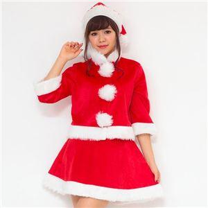 【クリスマスコスプレ 衣装 まとめ買い5着セット】Peach×Peach レディース プリティサンタクロース サンタコスプレ女性用 ジャケット&スカート