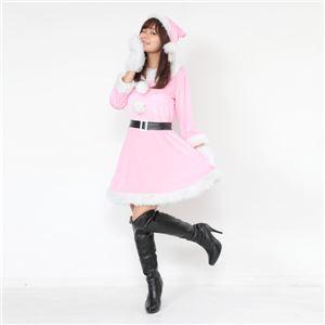 サンタ コスプレ ピンク レディース <帽子&...の紹介画像3