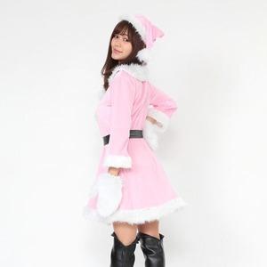 サンタ 大きいサイズ ピンク レディース <帽...の紹介画像4