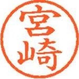 シャチハタ ネーム6既製 XL-6 1876 宮崎 - 拡大画像