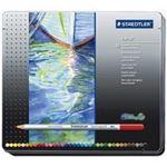 【送料無料】(業務用5セット) ステッドラー カラト水彩色鉛筆 125M36 36色の画像