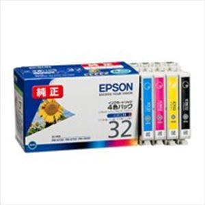 EPSON エプソン インクカートリッジ 純正 【IC4CL32】 4色パック(ブラック・シアン・マゼンタ・イエロー)