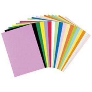 リンテック色画用紙/工作用紙【四つ切り100枚】クリームNC101-4