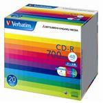 (業務用10セット) 三菱化学メディア CD-R <700MB> SR80SP20V1 20枚