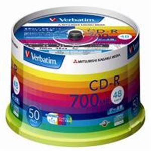 三菱化学メディア CD-R <700MB> SR80SP50V1 50枚 h01