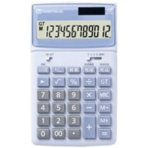 (業務用10セット) ジョインテックス 小型電卓卓上タイプ 5台 K042J-5