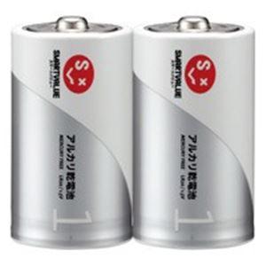 ジョインテックスアルカリ乾電池単1×100本N121J-2P-50