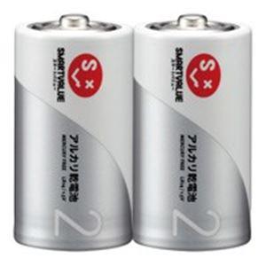 ジョインテックス アルカリ乾電池 単2×100本 N122J-2P-50