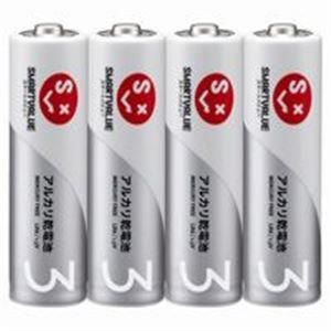 (業務用5セット)ジョインテックスアルカリ乾電池単3×200本N123J-4P-50【×5セット】