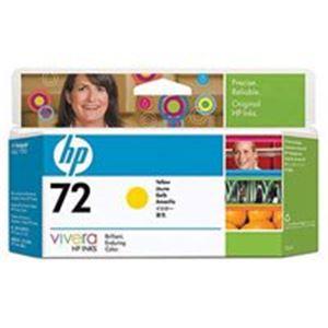 HP インクカートリッジHP72イエロー