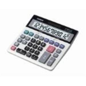 (業務用2セット) カシオ計算機(CASIO) 特大表示電卓デスクタイプ DS-120TW 12桁