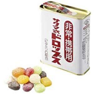 佐久間製菓 非常携帯用サクマ式缶ドロップ170g 10缶 - 拡大画像