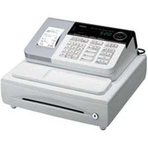 カシオ計算機(CASIO) 電子レジスター 本体 ホワイト SE-S20-WE