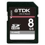 TDK SDHCメモリーカード 8GB T-SDHC8GB4