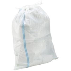 熱田資材 土のう袋48×62 ホワイトPE-104 50枚入 - 拡大画像