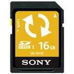 SONY(ソニー) Backup機能付SDカード16GB SN-BA16 F