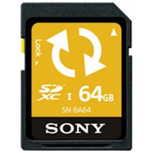 SONY(ソニー) Backup機能付SDカード64GB SN-BA64 F - 拡大画像